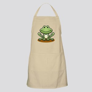 Green Frog Light Apron